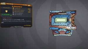 Borderlands 3 Legendary Hyperion Shield - Re-Charge Berner