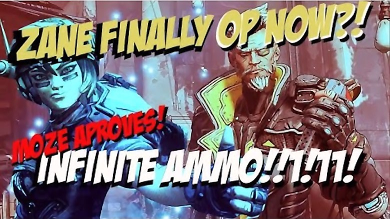 Zane - Infinite Ammo Build - Borderlands 3