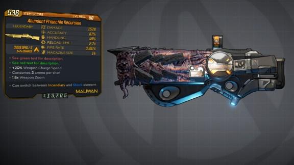 Borderlands 3 Legendary Maliwan Shotgun - Recursion