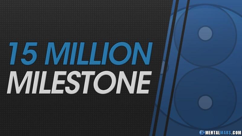 15 Million Milestone - MentalMars