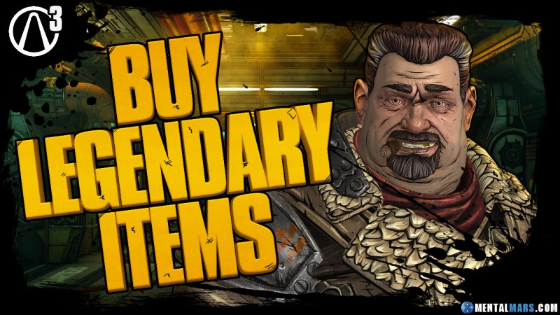 Buy Legendary Items for Borderlands 3