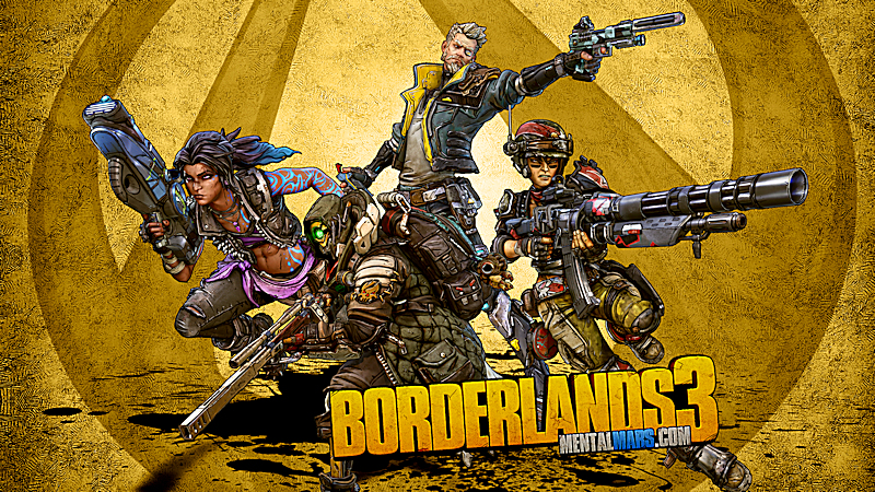 Borderlands 3 Wallpaper - Group Pose - Preview
