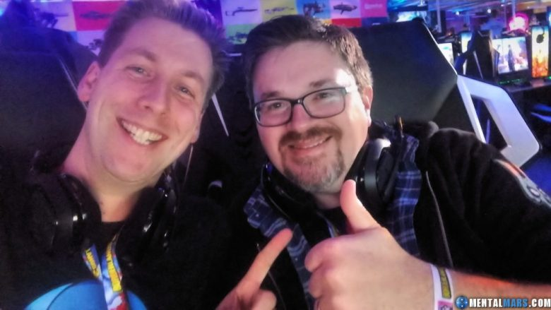 MentalMars and Ki11erSix at the Borderlands 3 Reveal Event