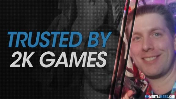 Trusted by 2K Games - MentalMars