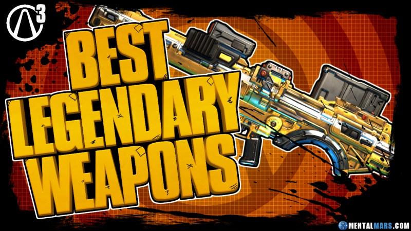Best Borderlands 3 Legendary Weapons