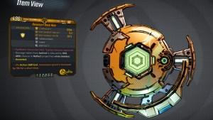 Borderlands 3 Legendary Anshin Shield - Back Ham