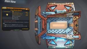 Borderlands 3 Legendary Hyperion Shield - Re-Charger