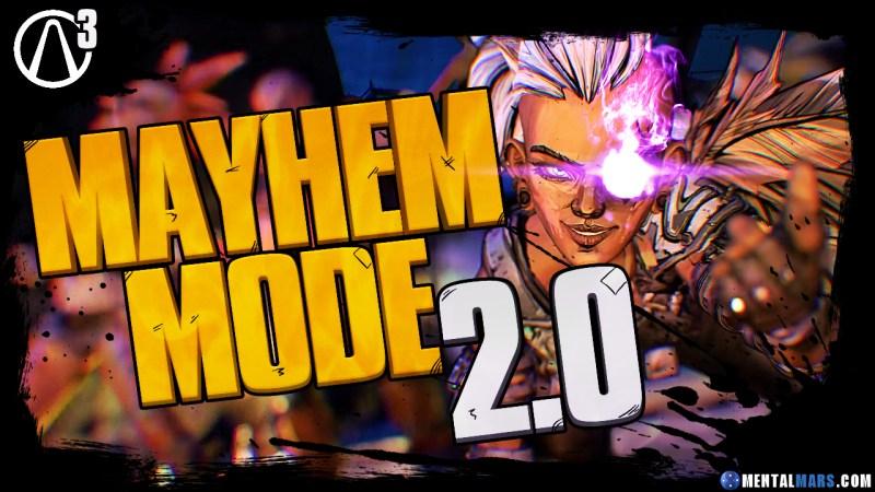 Borderlands 3 Mayhem Mode 2.0