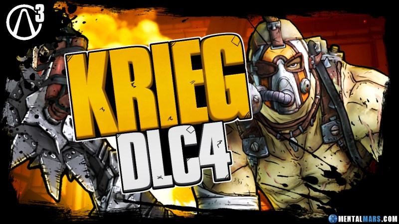 Krieg the Psycho in 4th Borderlands 3 DLC