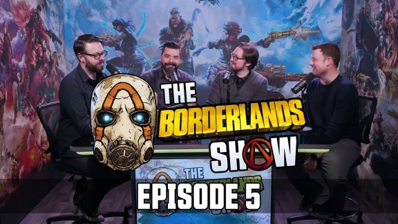 The Borderlands Show - Episode 5 with Graeme Timmins