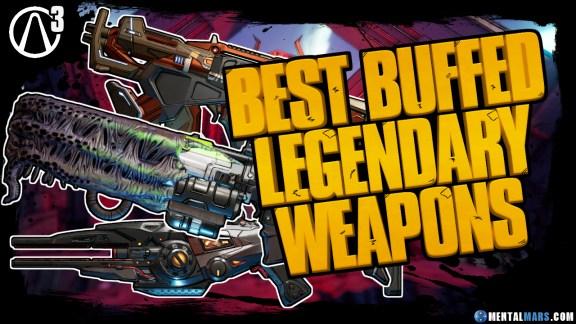 Best Buffed Legendary Weapons - Borderlands 3