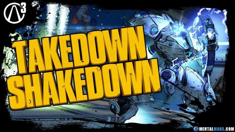 Takedown Shakedown Event - Borderlands 3
