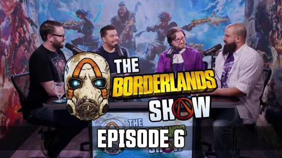 The Borderlands Show – Episode 6 with Anthony Nicholson