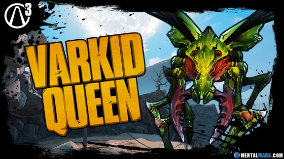 Varkid Boss in Ascension Bluf f- Borderlands 3