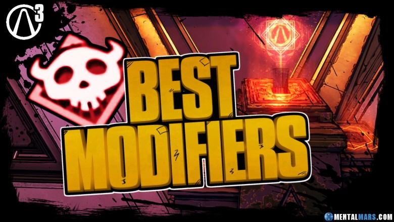 Best Mayhem Mode 2 Modifiers - Borderlands 3