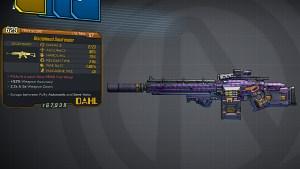 Borderlands 3 Legendary Dahl Assault Rifle - Soulrender