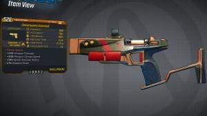 Borderlands 3 Legendary Maliwan Pistol - Superball