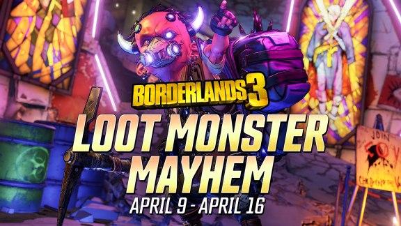 Loot Monster Mayhem - Borderlands 3 Event