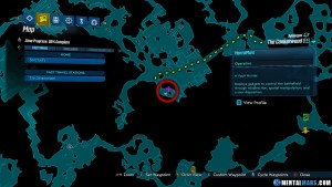 Portal Chest - The Crankerwood - Sweetfruit Village Map - Borderlands 3