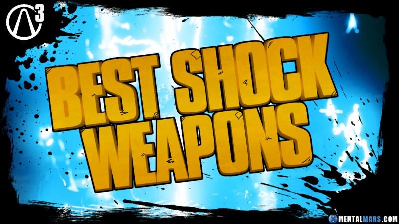 Best Shock Weapons - Borderlands 3