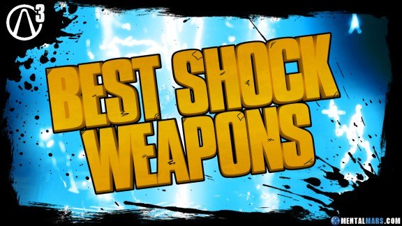 Best Shock Weapons - Borderlands 3