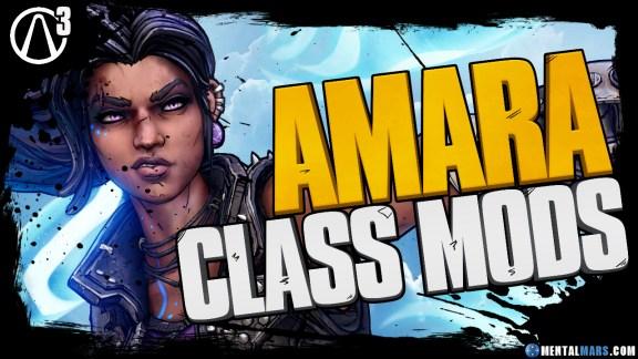 Borderlands 3 Amara Legendary Class Mods