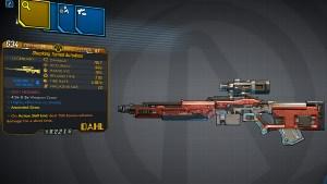 Borderlands 3 Legendary Dahl Sniper Rifle - AutoAimè