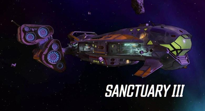 Borderlands 3 Sanctuary 3 Spaceship