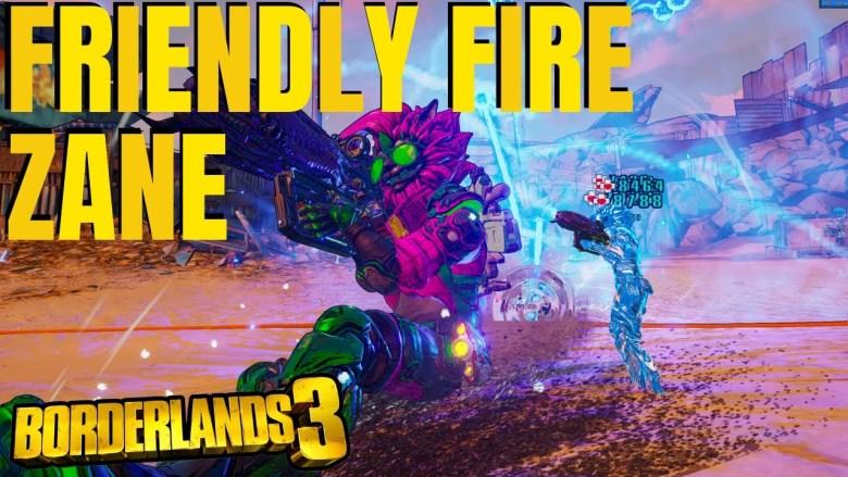 Zane - Friendly Fire Build - Borderlands 3