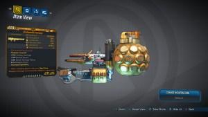 Borderlands 3 Legendary Atlas Rocket Launcher - Plumage