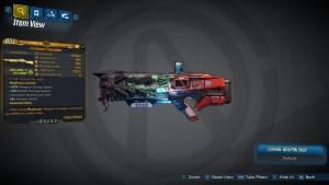 Borderlands 3 Legendary Maliwan Shotgun - Chandelier