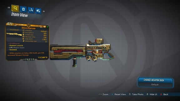 Borderlands 3 Legendary Tediore Shotgun - Brightside