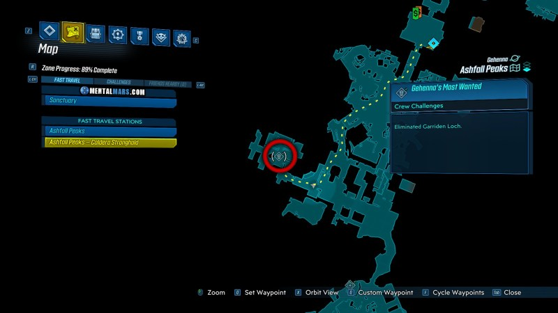 Garriden Loch Spawn Location - Borderlands 3 Bounty of Blood