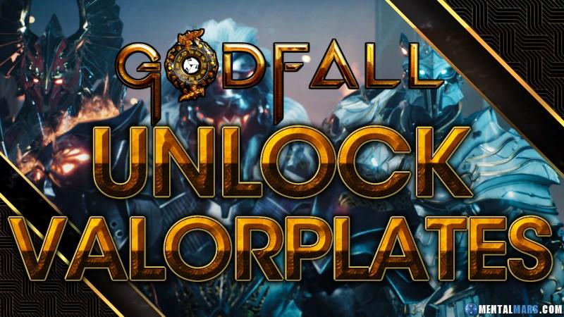 "Godfall Unlock ""Valorplates"" Armor Sets"