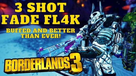 FL4K - 3 Shot Fade Build - Borderlands 3
