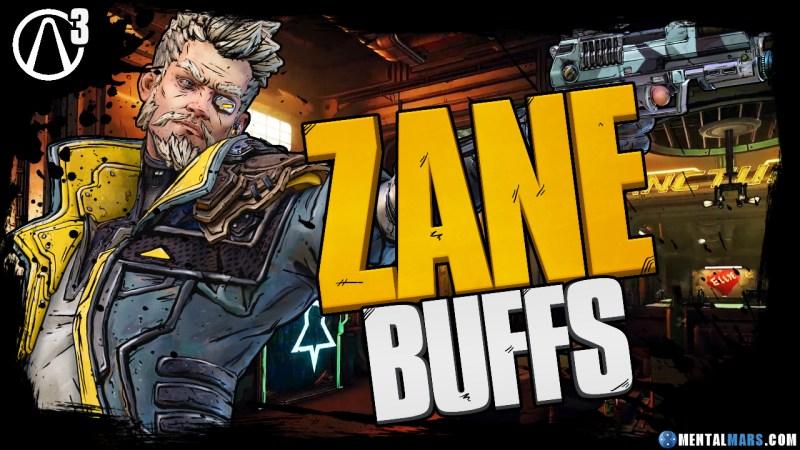 Borderlands 3: Zane Gets Buff