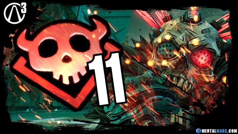 Mayhem Mode Level 11 - Borderlands 3