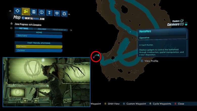 Rakkman Location Guide - Borderlands 3