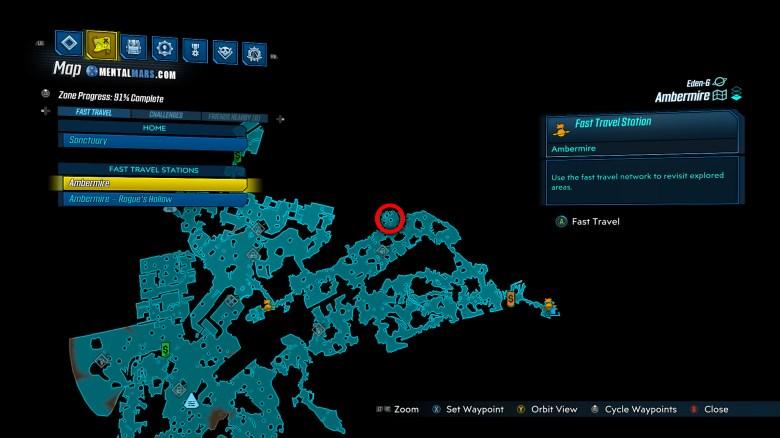 Red Jabber Location Guide - Borderlands 3