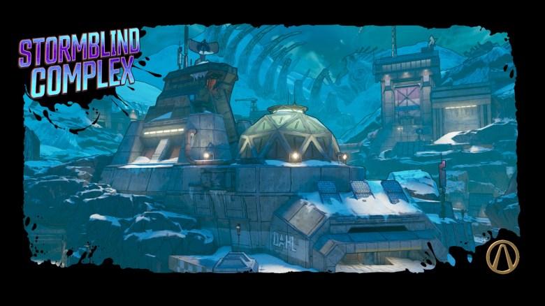 Snowblind Complex on Pandora - Borderlands 3