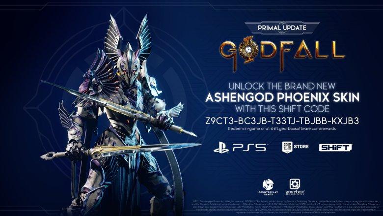 Ashengod Phoenix Skin - Godfall Shift Code