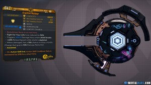Borderlands 3 Legendary Anshin Shield - Madcap