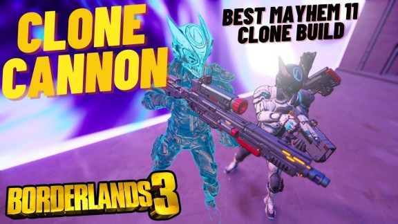 Zane 'Clone Cannon' Build - Borderlands 3