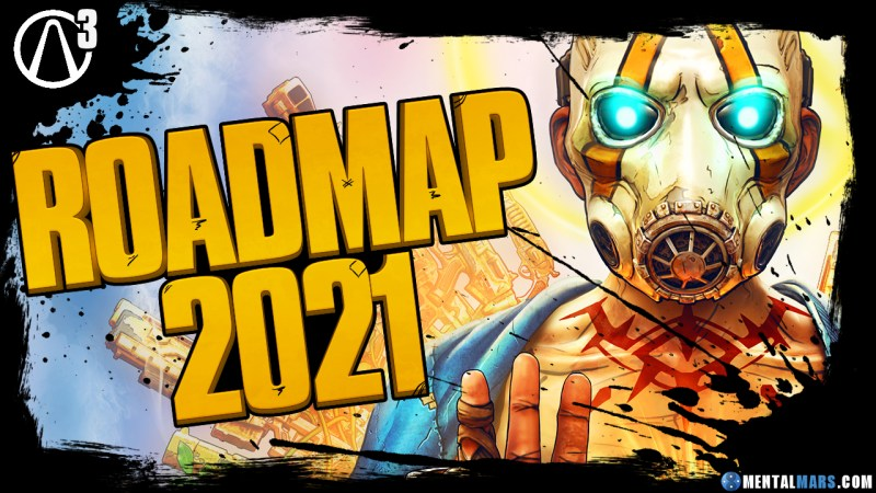 Borderlands 3 Roadmap 2021