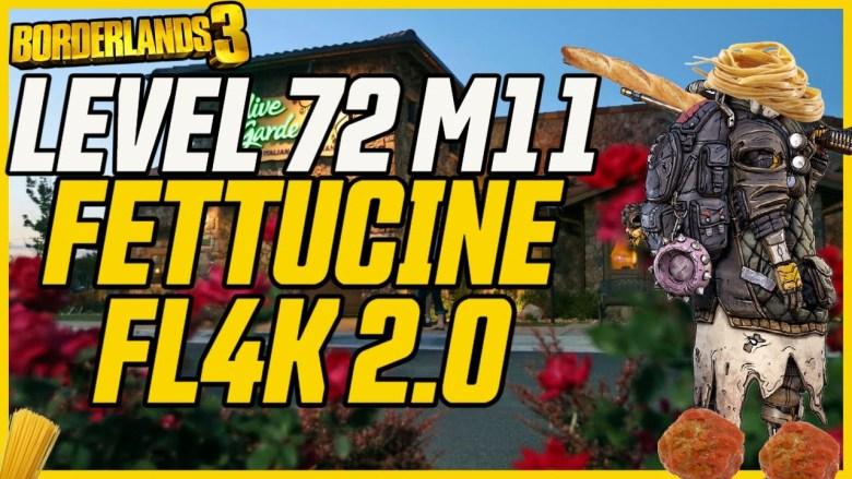 FL4K 'Fettuccine 2' Build - Borderlands 3