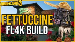 "FL4K ""Fettuccine"" Build - Borderlands 3"