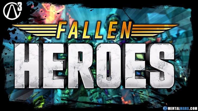 Borderlands 3 - Fallen Heroes - Vault Card