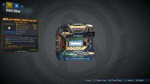 Borderlands 3 Legendary Hyperion Shield - Re-Volter