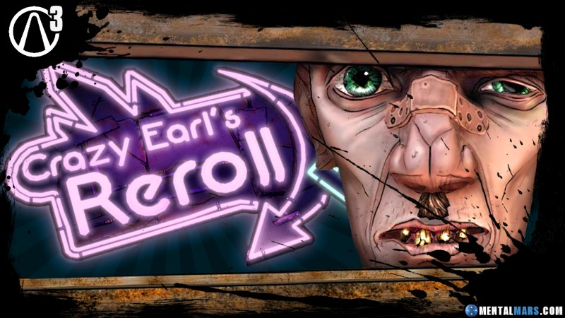 Crazy Earl's Re-Roll Machine - Borderlands 3