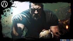 Olivier Richters as Krom in Borderlands Movie